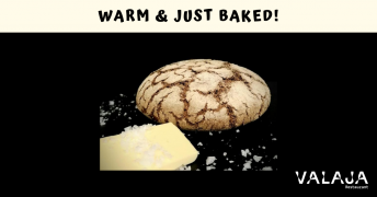 Warm just baked
